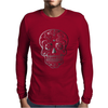 Day Of Dead Sugar Skull Mens Long Sleeve T-Shirt