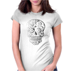 Day Of Dead Sugar Skull Womens Fitted T-Shirt