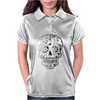 Day Of Dead Sugar Skull Womens Polo