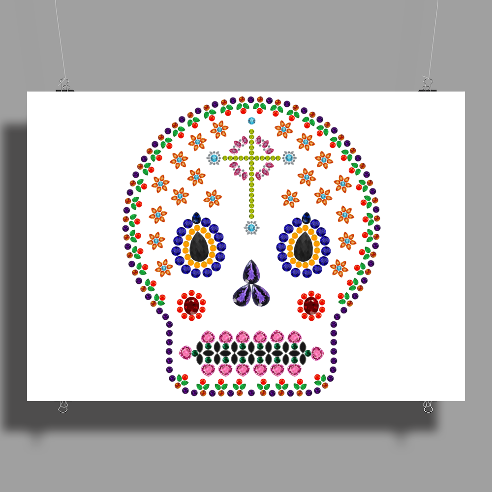 Day of the Dead Poster Print (Landscape)