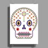Day of the Dead Poster Print (Portrait)