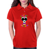Day of the Dead Sugar-Skull Womens Polo