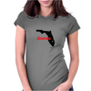 Daytona Florida. Womens Fitted T-Shirt