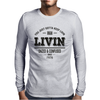 Dazed and Confused: LIVIN Mens Long Sleeve T-Shirt