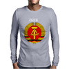 DDR Logo blau Mens Long Sleeve T-Shirt