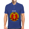DDR Logo blau Mens Polo
