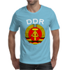 Ddr Logo Blau Mens T-Shirt