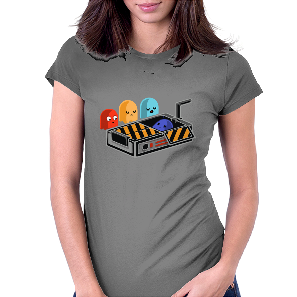 dead ghost Womens Fitted T-Shirt