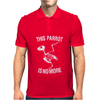 Dead Parrot Monty Python Inspired Mens Polo