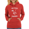 Dead Parrot Monty Python Inspired Womens Hoodie