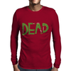 dead, the final Mens Long Sleeve T-Shirt