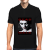 DEAD WALK ZombieGirl Mens Polo