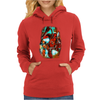 Deadpool and Wolverine X-Men Marvel Comics Womens Hoodie