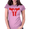 Deadpool Guns - Funny Womens Fitted T-Shirt