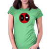 Deadpool Logo Womens Fitted T-Shirt