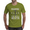 Deadpool Merc with a Mouth Mens T-Shirt