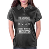 Deadpool Merc with a Mouth Womens Polo