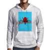 Deadpool on Bridge Mens Hoodie