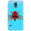 Deadpool on Bridge Phone Case