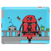 Deadpool on Bridge Tablet
