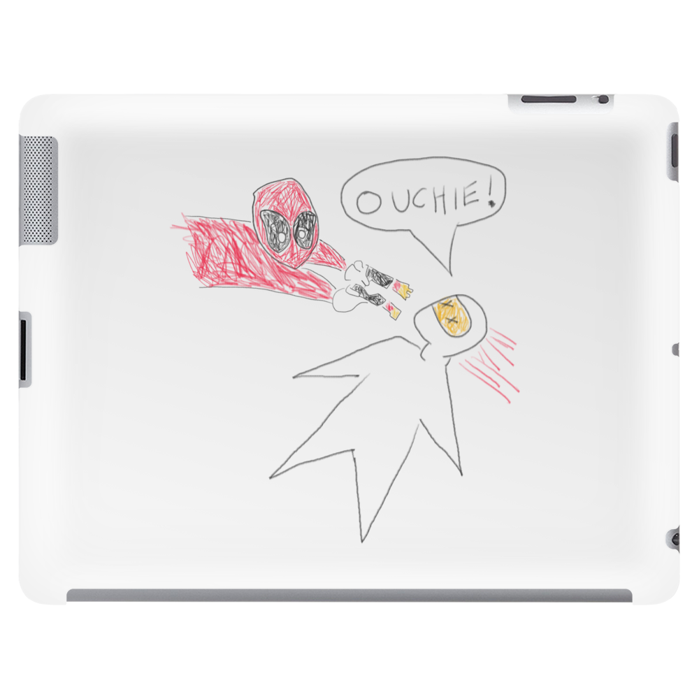 Deadpool - Ouchie Tablet