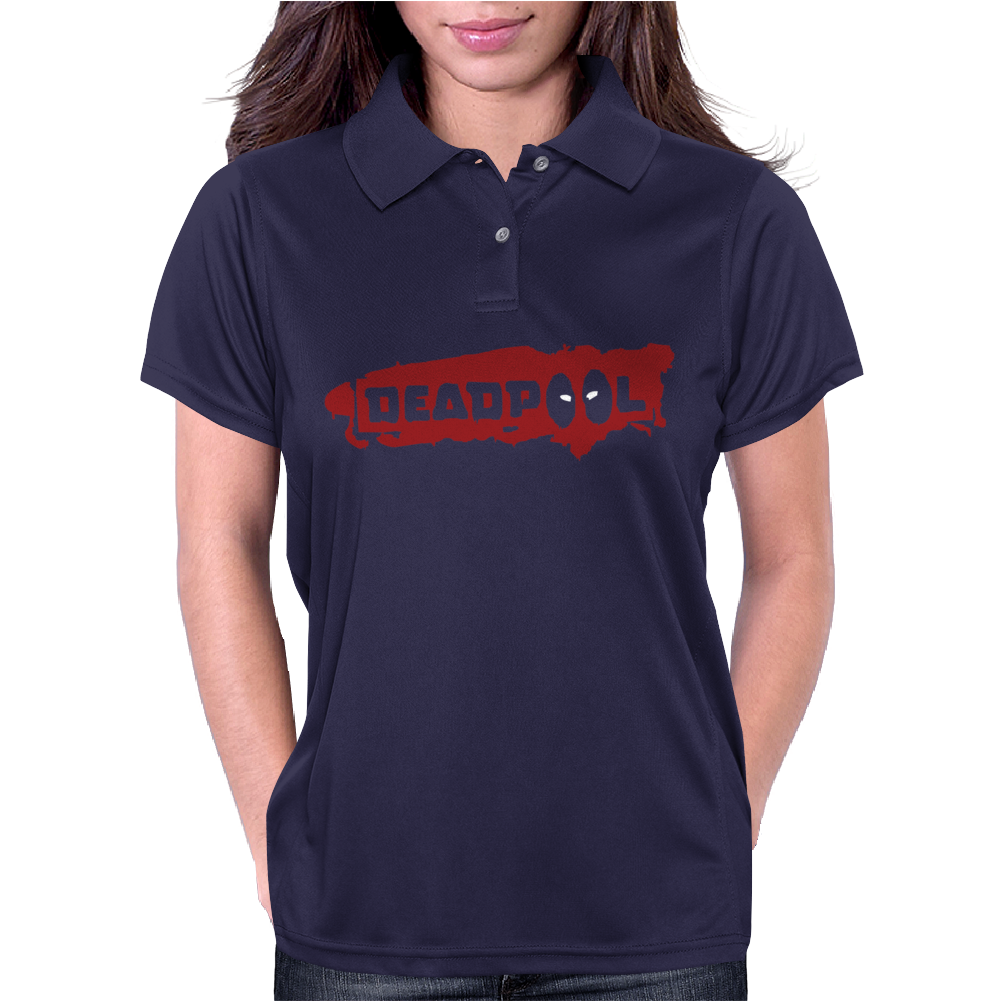 Deadpool Womens Polo