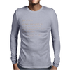 Dear Alcohol Mens Long Sleeve T-Shirt
