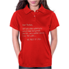 Dear Alcohol Womens Polo