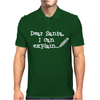 Dear Santa I Can Explain Mens Polo
