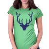 Deerhead Womens Fitted T-Shirt