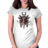 Death Angel Womens Fitted T-Shirt