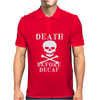 Death Before Decaf Mens Polo