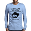 Death in June Live in June Tel-Aviv The Show That Summer. Mens Long Sleeve T-Shirt