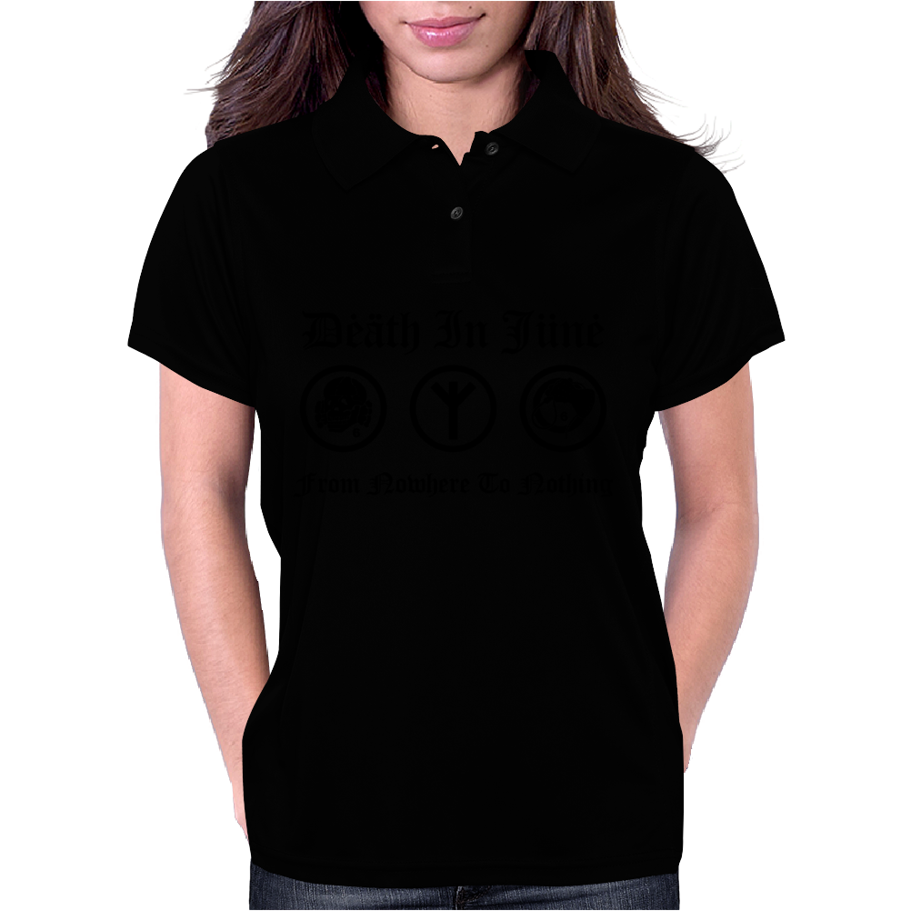 Death in June punk rock Womens Polo