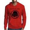 Death In June Skull Black Punk Rock. Mens Hoodie