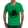 Death In June Skull Black Punk Rock. Mens T-Shirt