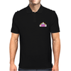 DEATH METAL! Funny Unicorn / Rainbow Mosh Parody Mens Polo