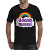 Death Metal Music Heavy Unicorn Rainbow Funny Mens T-Shirt