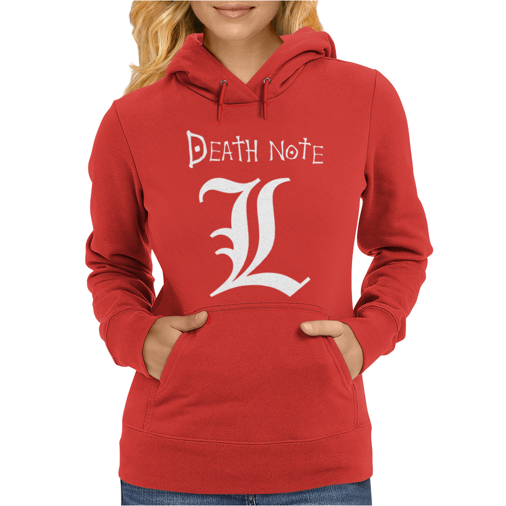 Death Note Manga Fumetti Comics Womens Hoodie