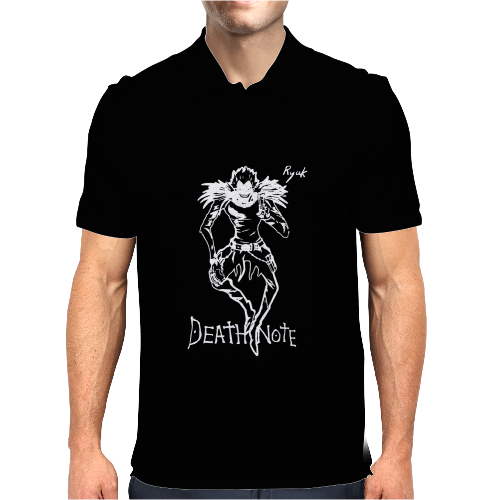 Death Note Mens Polo