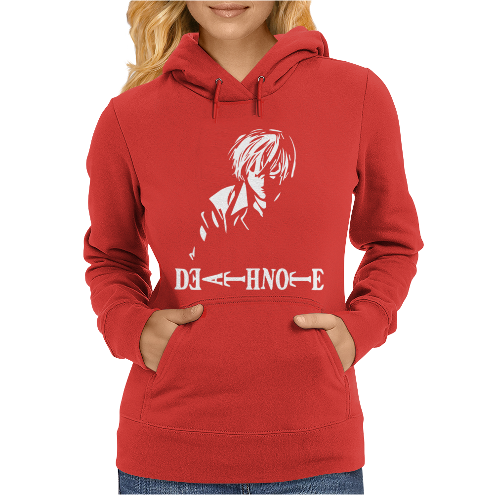 Death Note Tallas Womens Hoodie