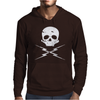 Death Proof Skull Mens Hoodie