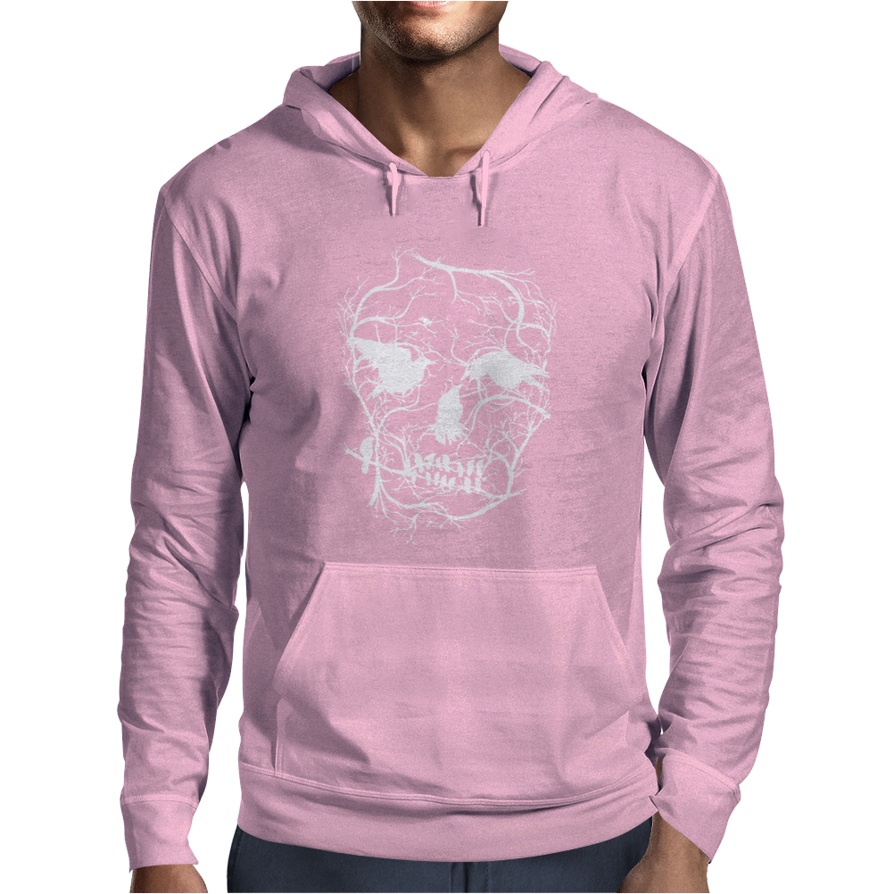 Death Skull Tree Bird Banksy Street Art Graffiti Stencil Mens Hoodie