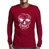 Death Skull Tree Bird Banksy Street Art Graffiti Stencil Mens Long Sleeve T-Shirt