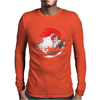 Death Star Pokeball Mens Long Sleeve T-Shirt