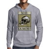 Death Tarot Card – number 13, La Mort. Mens Hoodie