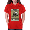 Death Tarot Card – number 13, La Mort. Womens Polo