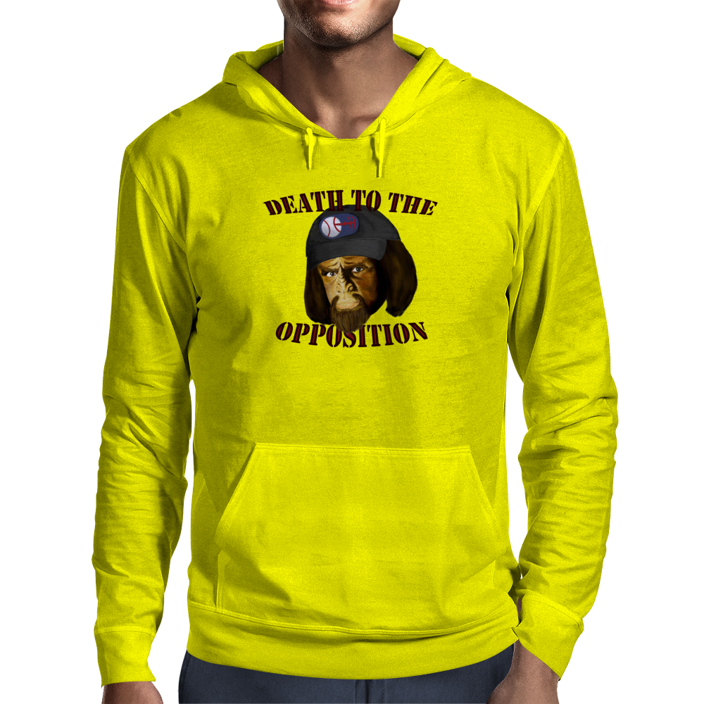 Death To The Opposition Mens Hoodie