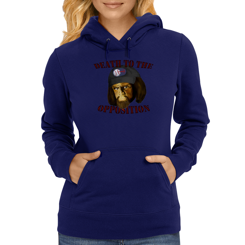 Death To The Opposition Womens Hoodie