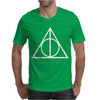 DEATHLY HALLOWS TRIANGLE Mens T-Shirt